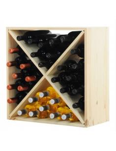 Regał na wino RW-6-4 60x60x30