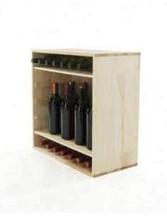 Regał na wino RW-6-2 60x60x30