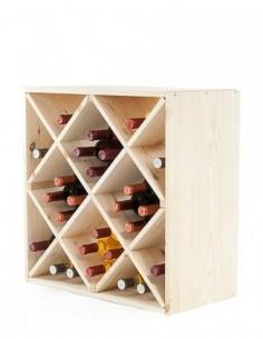 Regał na wino RW-6-5 60x60x30